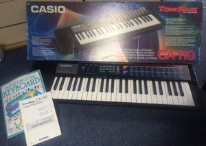 Casio tonebank keyboard CA 110 music piano battery or electric keyboard instrument