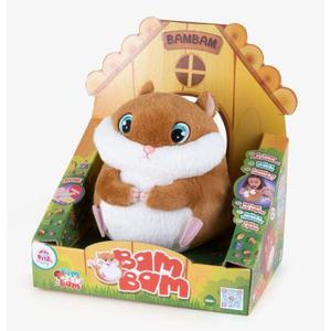 Club Petz Plush Bam Bam The Hamster