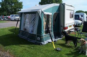 Dorema Porch Awning with fbre poles