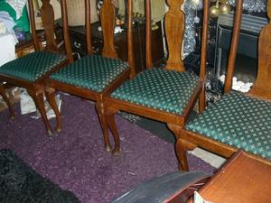 FOUR DINING ROOM CHAIRS - CLACTON ON SEA - CO15 6AJ Clacton-on-Sea