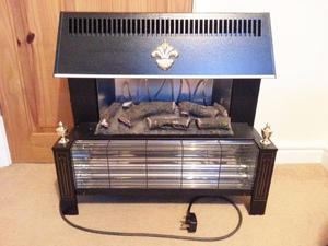Two Bar Electric Fire Posot Cl