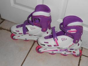 Girls Inline Skates Size 3-6 (Adult)