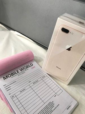 IPhone 8 Plus 256gb Gold with 12 month apple waranty