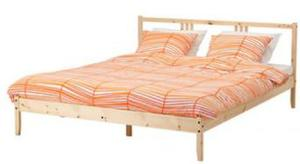Ikea double bed with mattress