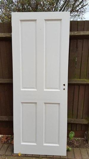 Interior doors and handles