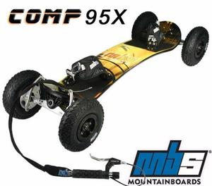 MBS COMP 95X Sport Mountainboard, Landboard, and ATB + Protectors... best for Christmas gift