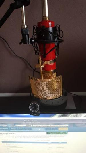 MXL FEG CONDENSOR MIC WITH SWING ARM STAND