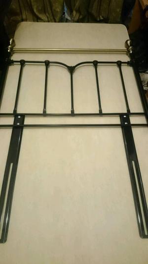 Metal headboard for single bed