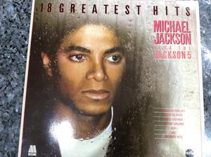 Michael Jackson & Jackson 5, Greatest hits, vinyl LP