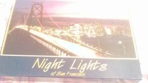 NIGHT LIGHTS OF SAN FRANCISCO  PIECE JIGSAW PUZZLE BRAND NEW AND SEALED