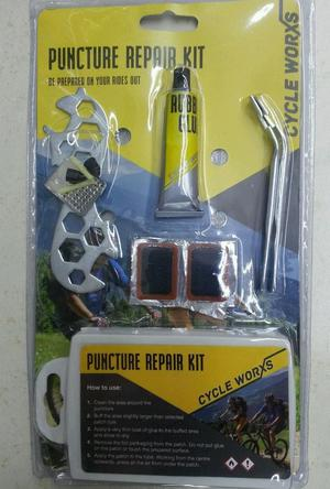 PUNCTURE REPAIR KIT EVERYTHING YOU NEED TO REPAIR A PUNCTURE