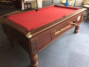 Pool table Supreme (English) x2 for sale. Coin system broken. Both in great shape