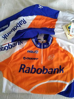Rabobank New cycling jersey and bib shorts