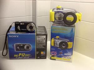 Scuba Sony Digital Camera with Marine Pack