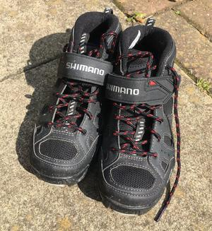 Shimano womens' cycling shoes with cleats