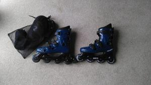 Size 10 inline roller boots