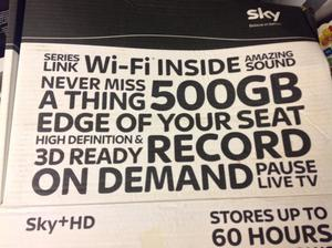 Sky box with wi fi reduced £38