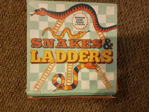 Snakes and Ladders game - brand new!