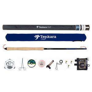 Tenkara USA -Ito Fly Rod & Accessories Kit with Rising Shot