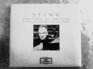 Two CD's 'Sting's' Songs from the Labyrinth and If On A