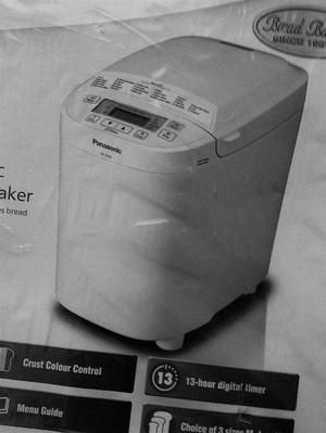Unopened Panasonic Automatic Bread Maker SD WXC