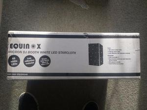 White LED Starcloth For Equinox Micron Booth