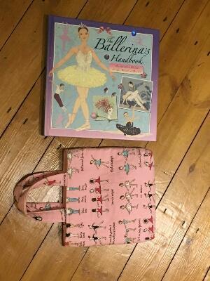 ballerina gift- book and bag