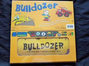brand new unopened convertible bulldozer book
