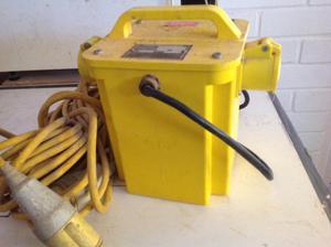 110 volt transformer - B&D Panel Saw + Extras