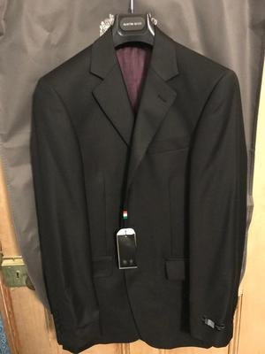 Austin Reed Mens black suit & trousers