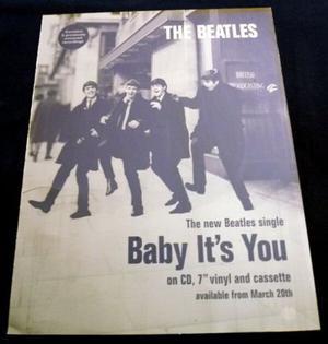 Beatles Original ''Baby its You'' Photo Printers Plate