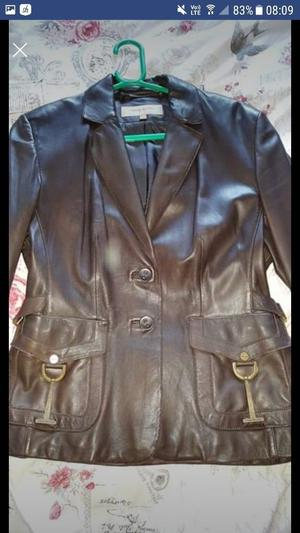 Beautiful Karen Milken Leather Jacket Size 14