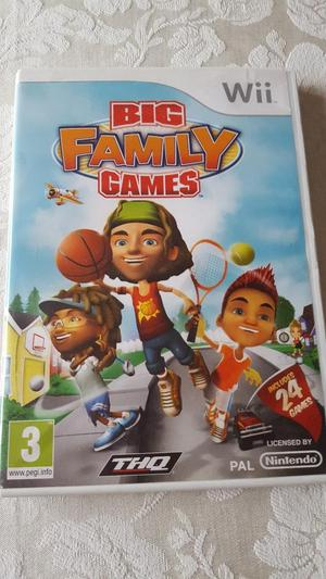 Big Family Games for Wii
