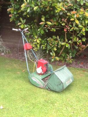 Birmid qualcast lawnmower