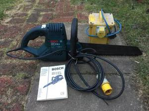 Bosch saw plus 110v transformer