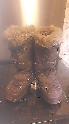 DC snow Boots GIRLS WOMENS KIDS Size Uk 5l