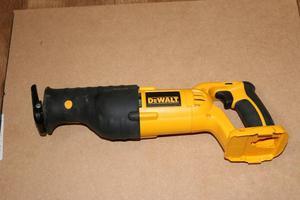 Dewalt DCv reciprocating saw.