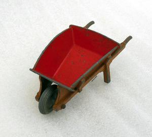 Dinky Toy 2 Tone Garden Wheel Barrow # 105B