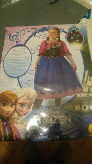 Frozen Light Up Musical Anna fancy dress