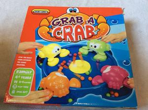 Grab a crab children's game