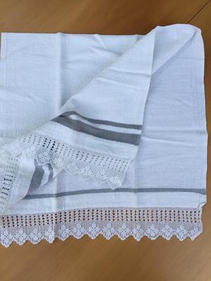 HandMade Crocheted Edge Towels