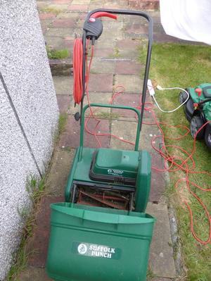 Lawn Mower Suffolk Punch, electric, cylinder