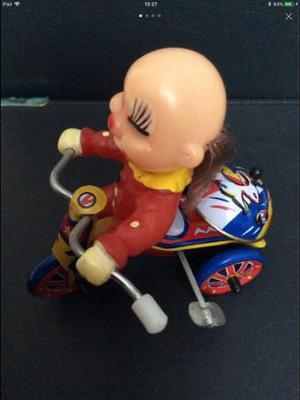 MTU tin wind up toy