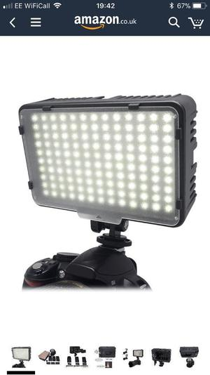 Mcoplus 130 LED dimmable ultra high power light.