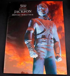 Michael Jackson Official History World Tour Programme