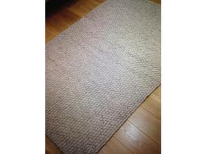New John Lewis 100% Pure Wool Handmade Rug Glencoe Grey
