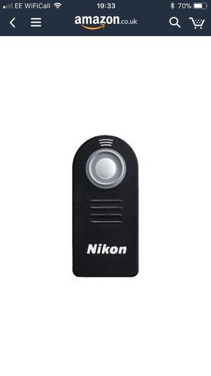 Nikon ML-L3 remote control.