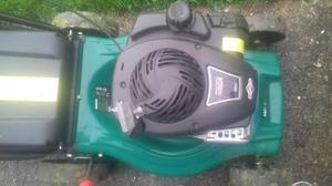 Qualcast petrol mower 125cc