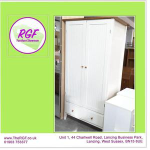SALE NOW ON!! Stunning Wardrobe With Shelves - Local