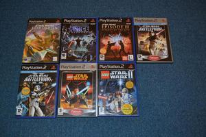 Star wars ps2 game collection x7